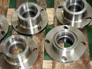 Stainless steel undercarriage part roller