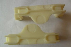 CNC machined plastic part