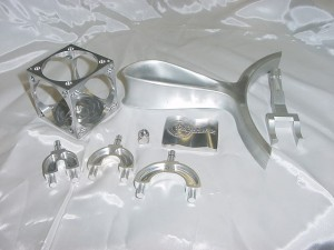 High precision machining part stainless steel