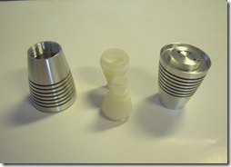 ABS plastic components