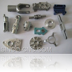 cnc precision small aluminum product