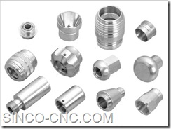 Hardware precision Aluminum products fasteners spare parts