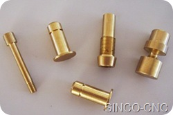 OEM CNC copper mechanical product