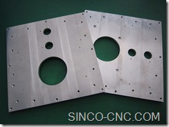 CNC Aluminium Machine Shop