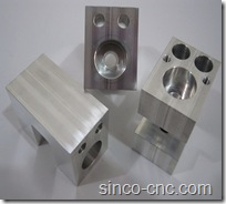 Machine Shop Aluminum Part