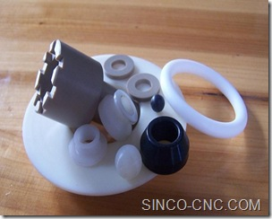 CNC Plastic Machining PEEK Part