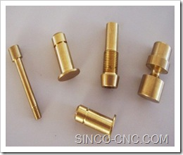 beryllium copper CNC part