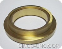 CNC Machine Copper Part Shop
