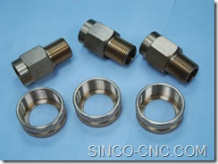 CNC turning precision aluminum products