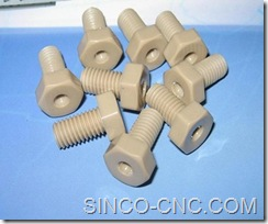 Custom CNC PEEK Products