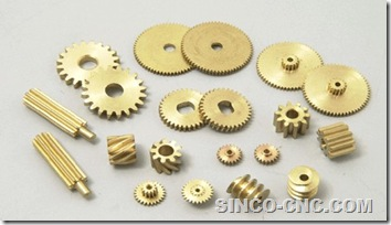 CNC Machining Copper Part