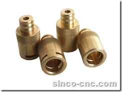 Precision CNC Machining Part for Copper