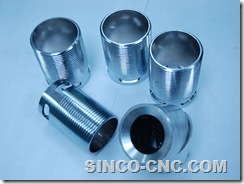 CNC machining 6061-T6 Aluminum product