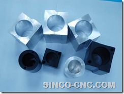 CNC Lathe Aluminum Products
