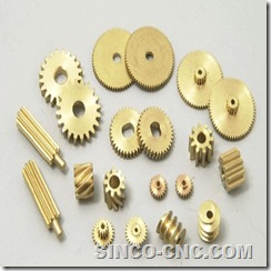 Precision CNC Copper Part