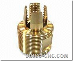 Precision CNC Machining Copper Part
