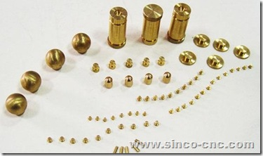CNC Lathe Copper Products